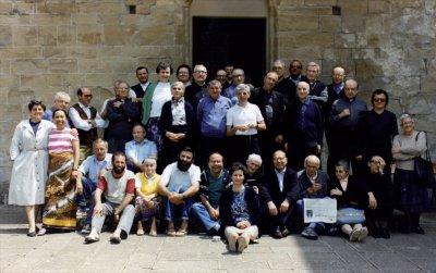Gruppo di Servi e Serve della Chiesa a Marola (RE), agosto 1991